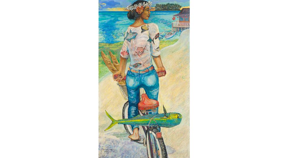 <h6>Mahi Mahi Bicyclette 44x77