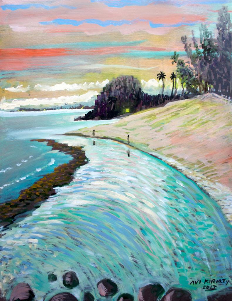 <h6>Baby Beach Sunset