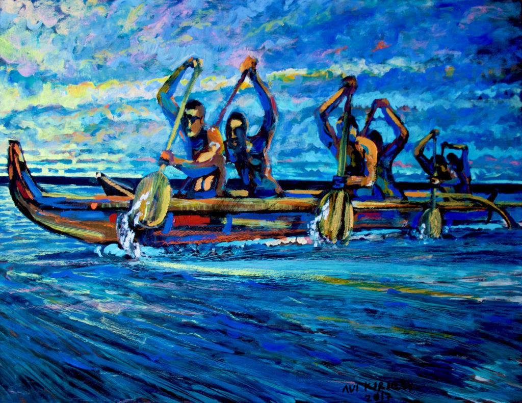 <h6>Sunset Paddlers