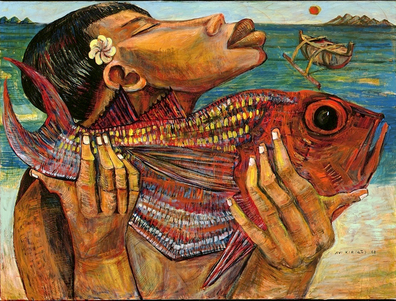 <h6>Fish Catch <br>&nbsp;&nbsp;  <br>&nbsp;&nbsp;          <br>&nbsp;&nbsp;   Size: 31 x 41.3  </h6> <br>&nbsp;&nbsp;  <br>&nbsp;&nbsp;          <br>&nbsp;&nbsp;  $ 1,200.00