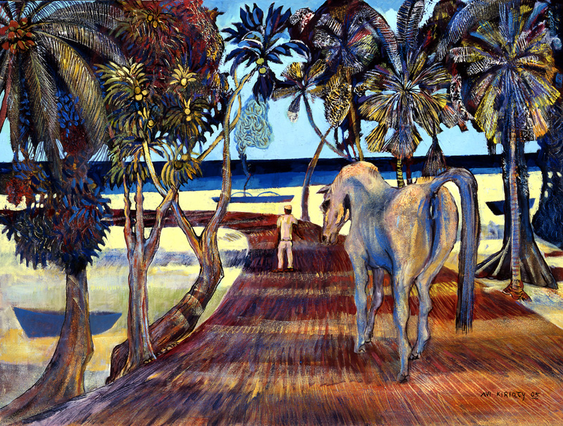 <h6>Horse Walk <br>  <br>          <br>   Size: 30 x 40  </h6>