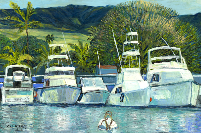 <h6>Lahaina Harbor <br>    <br>            <br>     Size: 22 x 34  </h6>