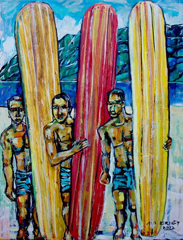 <h6>Longboard Trio