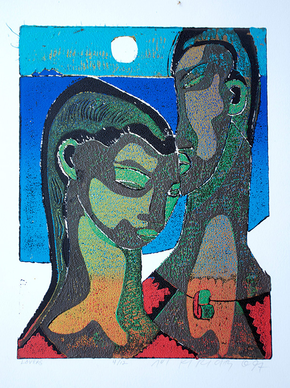 <h6>Lovers <br>&nbsp;&nbsp; <br>&nbsp;&nbsp;  <br>&nbsp;&nbsp;          <br>&nbsp;&nbsp;   Size 9 x 12  </h6>