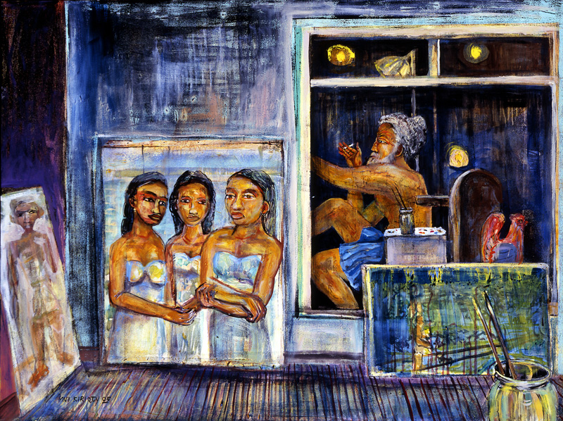 <h6>Night Reflections <br>  <br>          <br>   Size: 30 x 40  </h6>