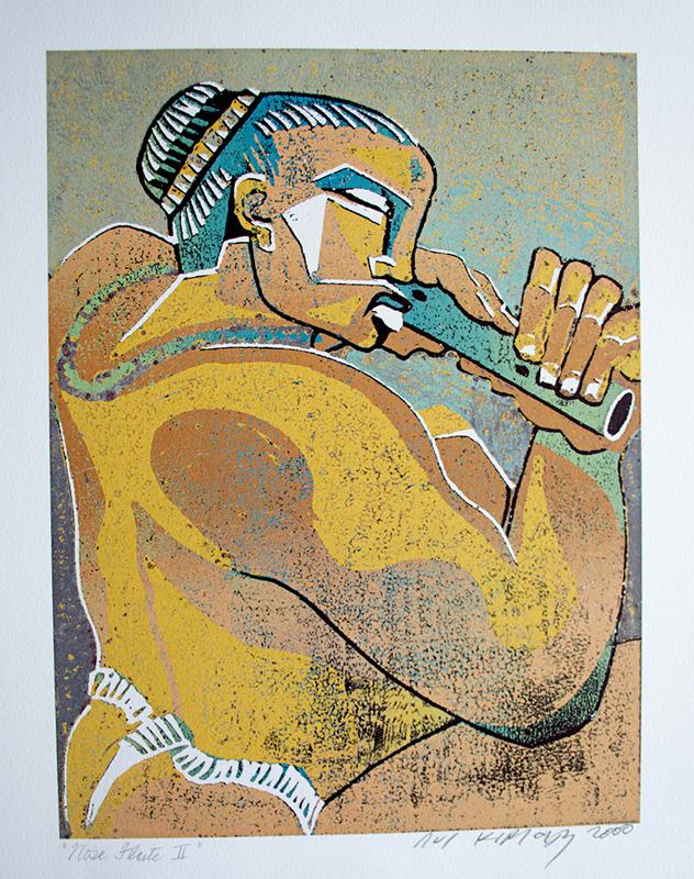 <h6>Nose Flute II <br>  <br>          <br> <br>  <br>          <br>   Size: 12.64 x 9.5  </h6> <br>  <br>          <br>   Size: 19.96 x 15  </h6> <br>  <br>          <br>   Size: 27.94 x 21