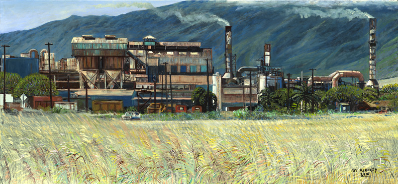 <h6>Puunene Sugar Mill <br>    <br>            <br>     Size: 28 x 60  </h6>
