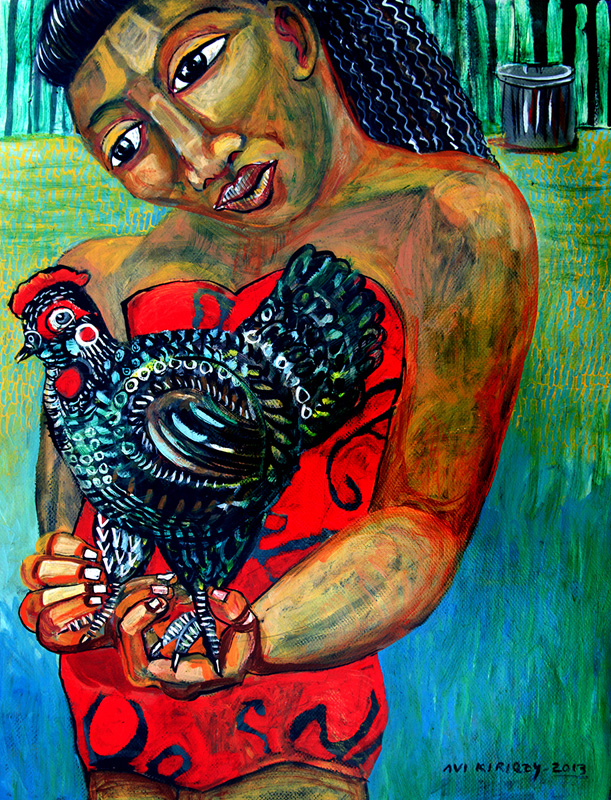 <h6>The Little Black Hen
