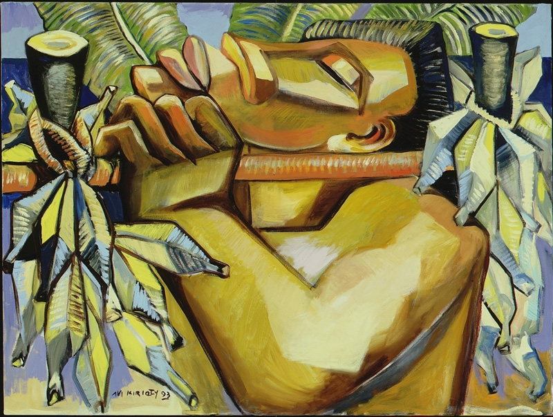 <h6>Banana Man <br>    <br>            <br>     Size: 30 x 40  </h6> <br>    <br>            <br>    $ 1,200.00