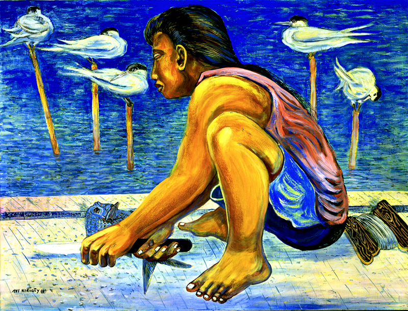 <h6>Girl on the Pier <br>&nbsp;&nbsp;  <br>&nbsp;&nbsp;          <br>&nbsp;&nbsp;   Size: 30 x 40  </h6>