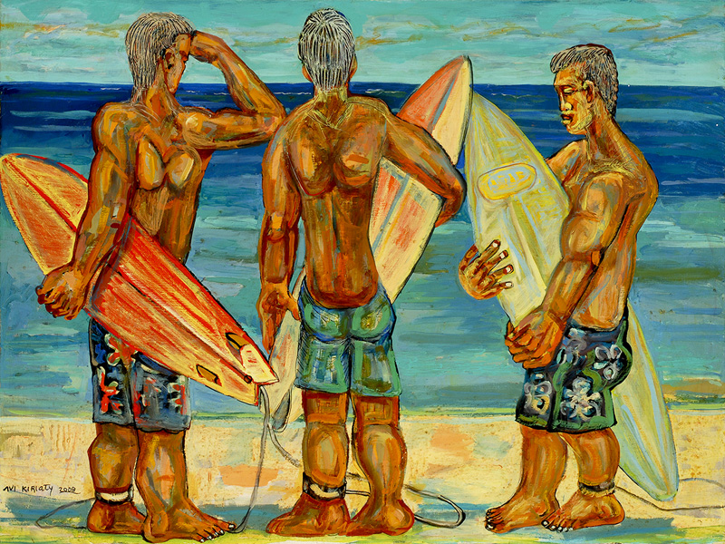 <h6>Looking For Waves <br>&nbsp;&nbsp;  <br>&nbsp;&nbsp;          <br>&nbsp;&nbsp;   Size: 30 x 40  </h6>