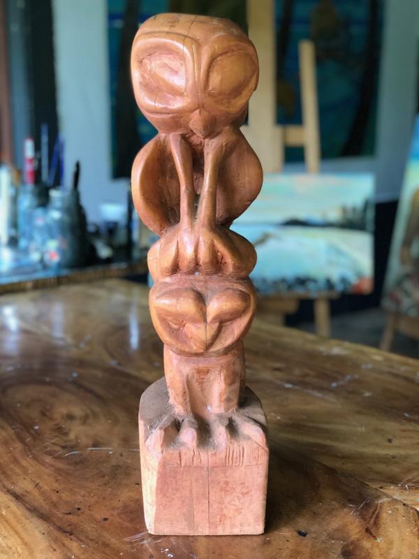 <h6>Totem Wood Carving