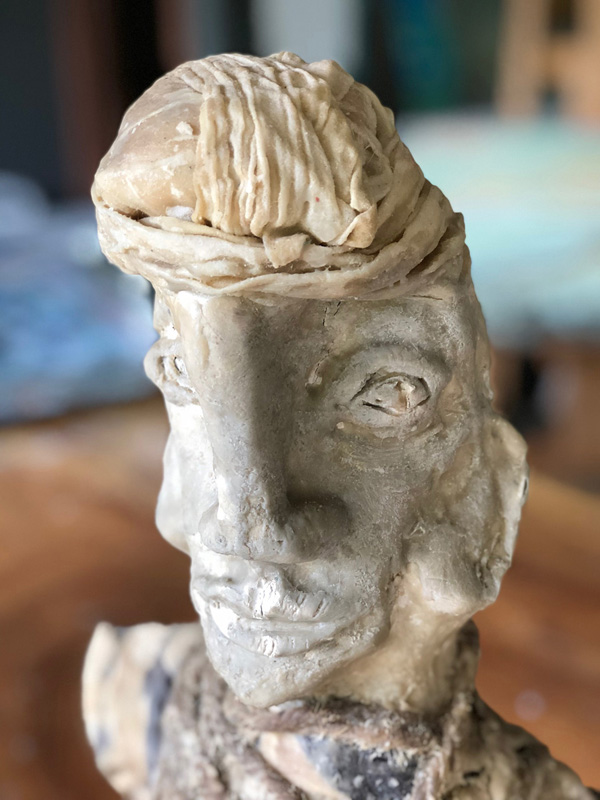 <h6>Face Sculpture