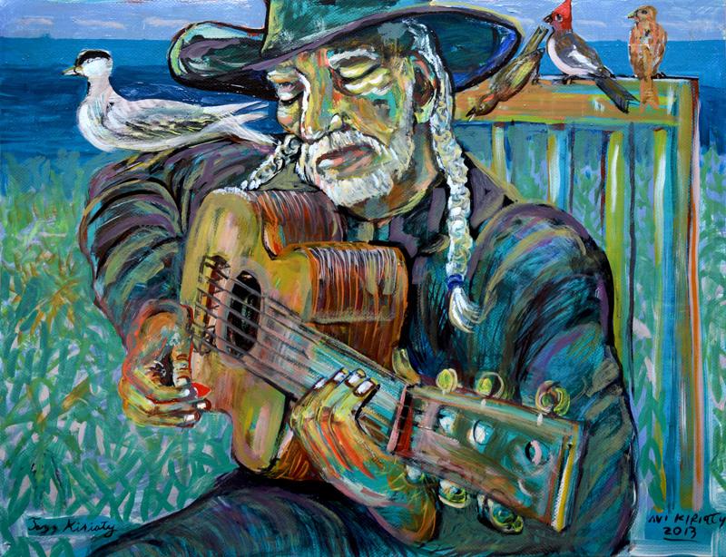 <h6>Willie and the Birds  </h6>&nbsp;&nbsp;&nbsp;&nbsp;&nbsp;&nbsp; &nbsp;&nbsp;&nbsp;&nbsp;&nbsp;&nbsp; <span>  19.75  x  25.5</span>