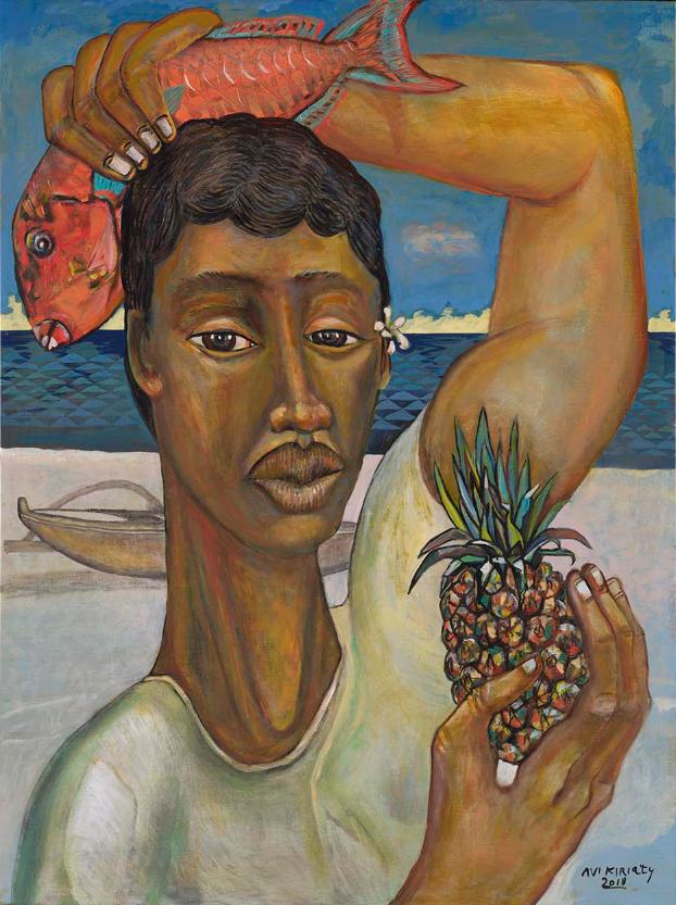 <h6>Kimo's Pineapple <br>&nbsp;&nbsp;  <br>&nbsp;&nbsp;          <br>&nbsp;&nbsp;   Size: 40 x 30  </h6>