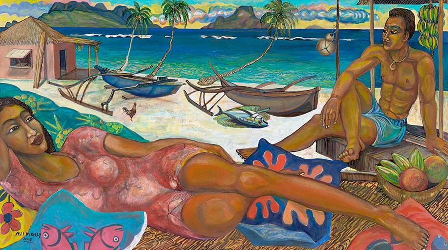<h6>Island Dreamers &nbsp;&nbsp;&nbsp;&nbsp;&nbsp;&nbsp;</h6><span>$ 3,000.00&nbsp;&nbsp&nbsp;&nbsp;&nbsp;&nbsp;   36  x  64.5</span>
